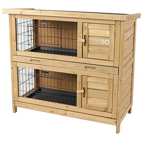 Kaninchenstall / Hasenstall EMMA auf 2 Etagen