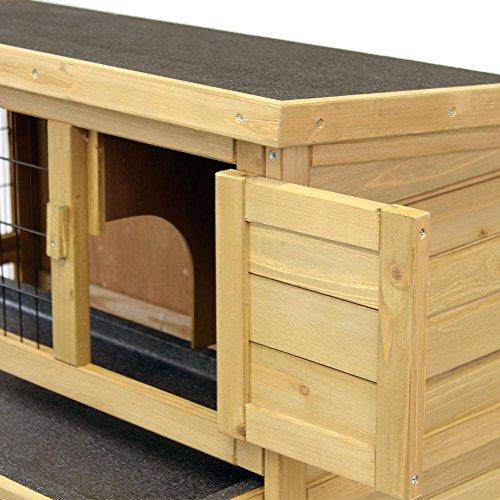kaninchenstall hasenstall emma auf 2. Black Bedroom Furniture Sets. Home Design Ideas