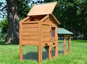 Stall Nr 1 Kaninchenstall Hasenstall Kaninchenkäfig Hasenkäfig Meerschweinchenstall - 4