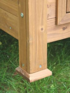 Kerbl Kleintierstall für Hühner oder Kaninchen, 105 x 100 x 108 cm - 4