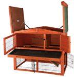 trixie kaninchenstall kaufen wie selbst gebaut ratgeber. Black Bedroom Furniture Sets. Home Design Ideas