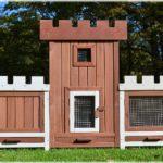 Hasenschloss - Hasenstall - Kaninchenstall - Kleintierstall - 1