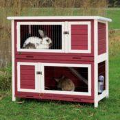 Kaninchenstall für draussen