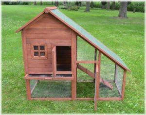 Bauernhaus / Kaninchenstall Hasenstall / Kaninchenkäfig Hasenkäfig ! - 2