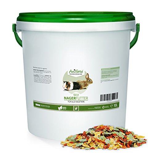 AniForte Natur Nagerfutter 10 Liter für Nager