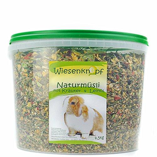 Wiesenknopf 4,5kg Kaninchenfutter Strukturfutter mit Kräuter